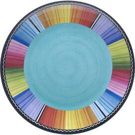 Serape Melamine Dinner Plate (Set of 6)