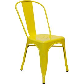 Gavin Side Chair in Yellow (Set of 2)