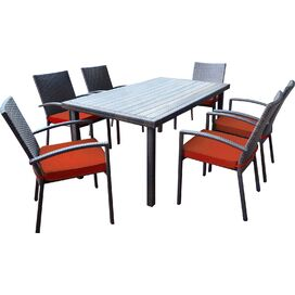 7-Piece Palm Beach Patio Dining Set