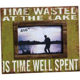 Time Wasted Picture Frame