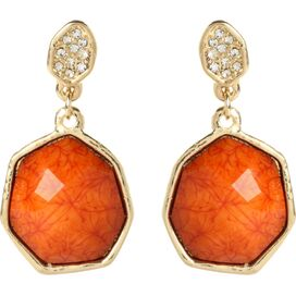 Hampton Hexagon Earrings
