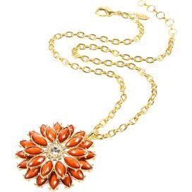 Della Femina Necklace in Coral