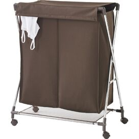 Rolling Double Laundry Sorter