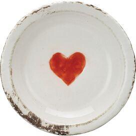 Rustic Heart Decorative Plate