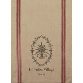 Downtown Village Tea Towel