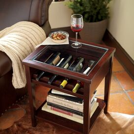 Tipton Wine Table in Cherry