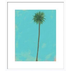 Palm Solo Framed Giclee Print, Artfully Walls
