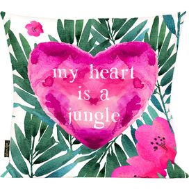 Jungle Heart Pillow, Oliver Gal