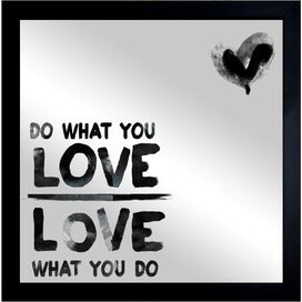 Do What You Love Wall Mirror, Oliver Gal