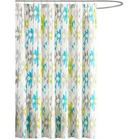 Sierra Shower Curtain in Green