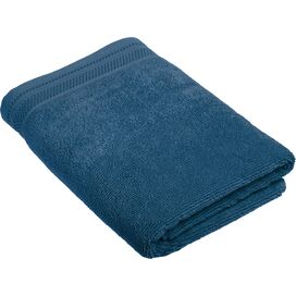 Crowning Touch by Welspun Bath Towel in Denim