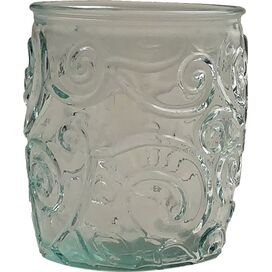 Mediterranean Tumbler in Ice Clear (Set of 4)