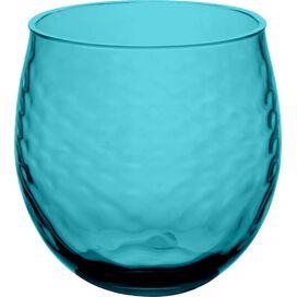 Azura Stemless Wine Glass in Aqua (Set of 6)