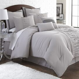 Marnie Comforter Set in Gray