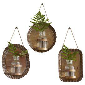 Byram Wall Vases (Set of 3)