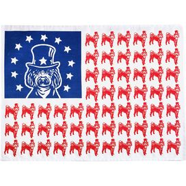Patriotic Labradoodle Tea Towel (Set of 2)