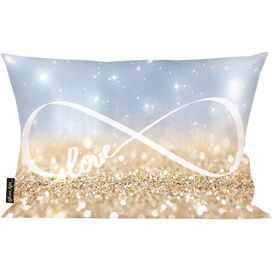 Infinite Love Sign Pillow, Oliver Gal