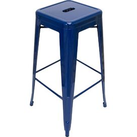 Galaxy Counter Stool in Navy (Set of 2)