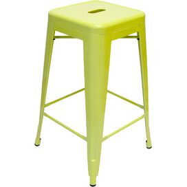 Galaxy Counter Stool in Lime