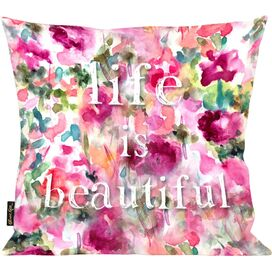 Life in Wonderland Pillow, Oliver Gal