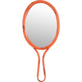 Megan 7'' Hand Mirror in Orange
