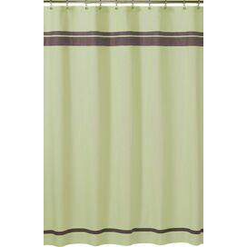 Ibiza Shower Curtain in Green