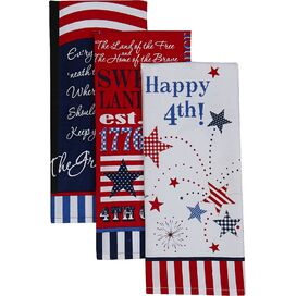 All-American Dishtowel (Set of 3)
