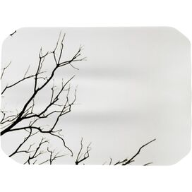 Winter Placemat in White