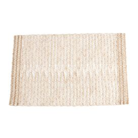 Burlap Placemat in Ivory (Set of 4)