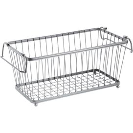 Stacking Wire Basket in Stainless Steel