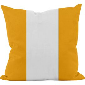 Stephanie Cotton Pillow in Celosia Orange