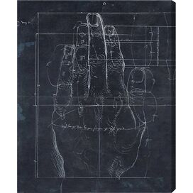 Durer Hand Engraving 1513 Canvas Print, Oliver Gal