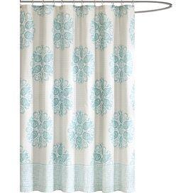 Melbourne Shower Curtain in Blue