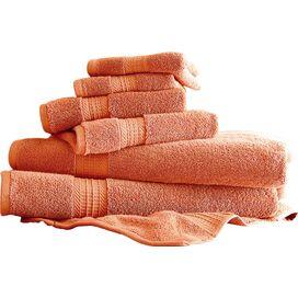 6-Piece Towel Set in Coral