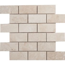 Travertine Mosaic Tile (Set of 10)