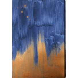 Starry Night in Copper Canvas Print, Oliver Gal