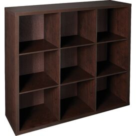 9-Cubby Organizer in Chocolate