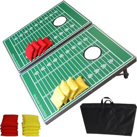 11-Piece Football Cornhole Game Set
