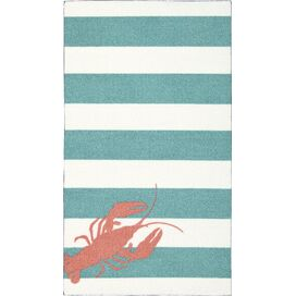 "Newburyport 2'2"" x 3'9"" Rug in Teal"