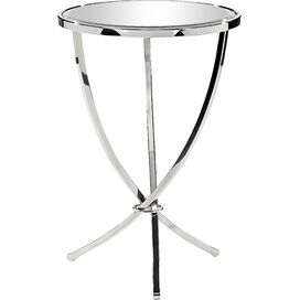 Aria Side Table in Silver