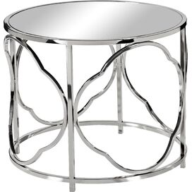 Paulina Mirrored Side Table
