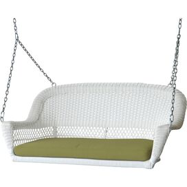Candace Porch Swing in White