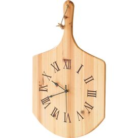 Pizza Paddle Wall Clock