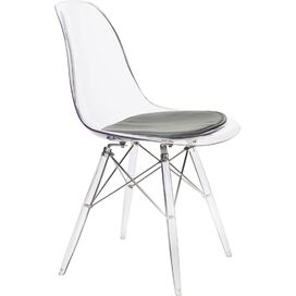 Banks Side Chair in Clear