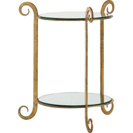 Katana End Table, Arteriors