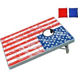 America Cornhole Beanbag Toss Game