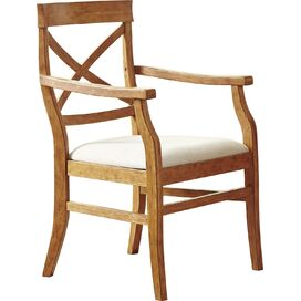Mansfield Arm Chair in Honey