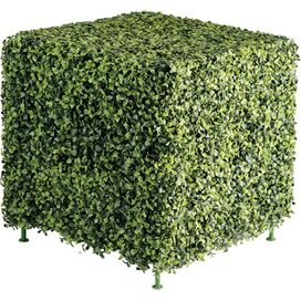 Faux Boxwood Cube Hedge