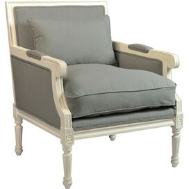 Faye Arm Chair in Gray