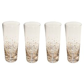 Copper Band Highball Glass (Set of 4)